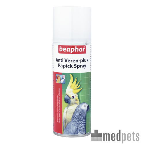 Beaphar Anti-verenpluk (Papick) Spray (Anti Feder-Rupf Spray)