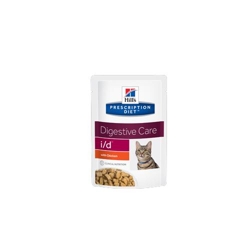 Hill's Prescription Diet i/d Digestive Care Katzenfutter - Frischebeutel - Huhn