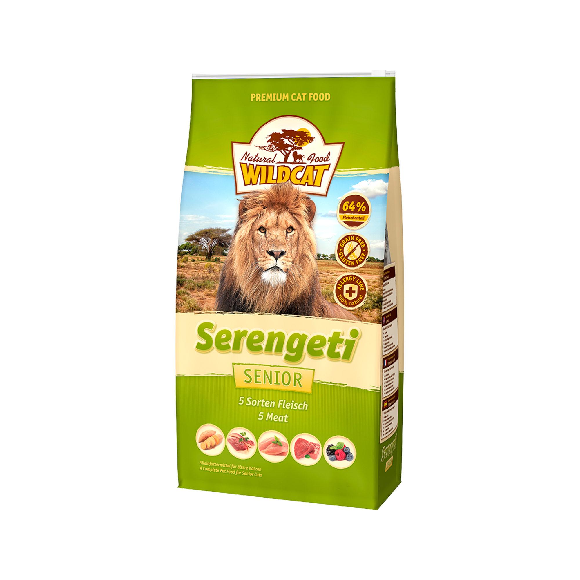 Wildcat Serengeti Senior Katzenfutter