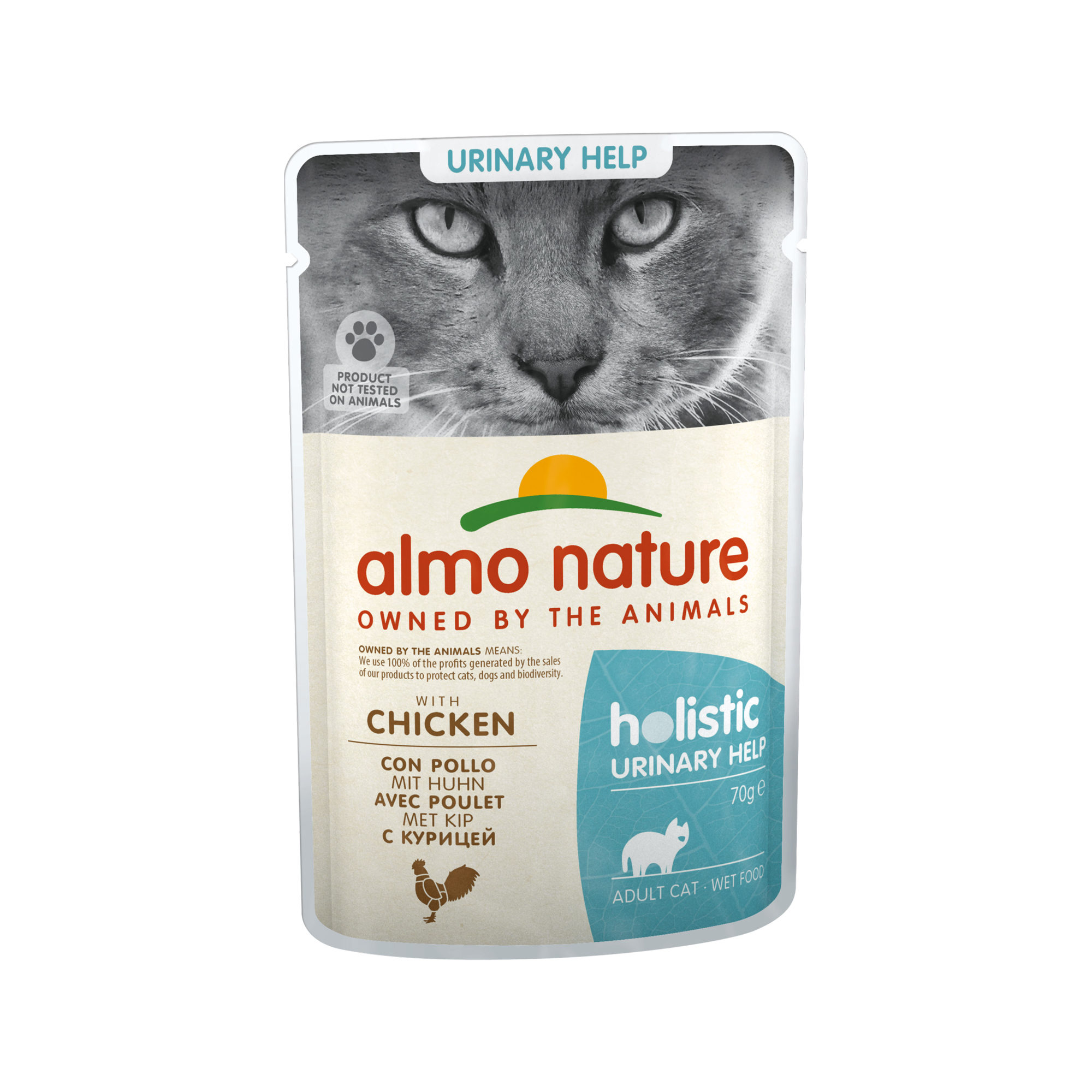 Almo Nature Holistic Urinary Help Katzenfutter - Frischebeutel - Huhn