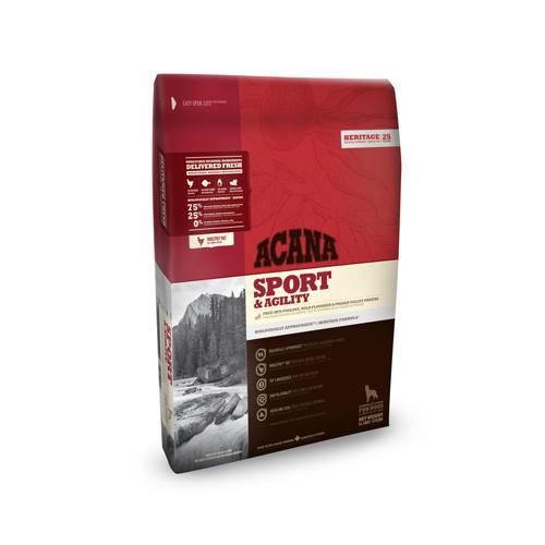 ACANA Sport & Agility Heritage Hundefutter - 11,4 kg