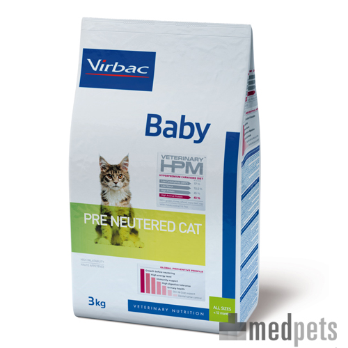 Veterinary HPM Baby Pre Neutered Katzenfutter