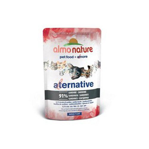 Almo Nature Alternative Katzenfutter - Dosen - Sardine
