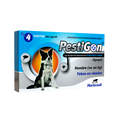Pestigon Spot-on Hund - 10 - 20 kg